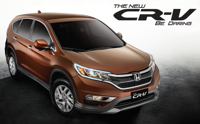 HONDA ALL NEW CRV